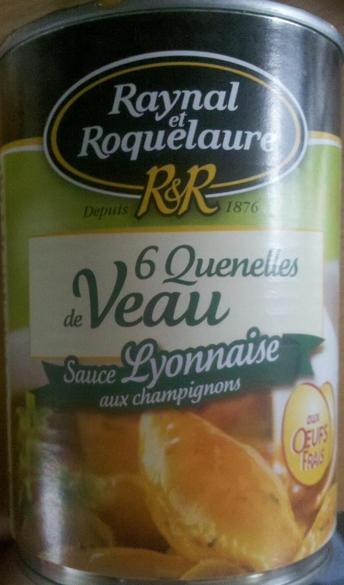 Quenelles de veau sauce lyonnaise aux champignons - Product - fr