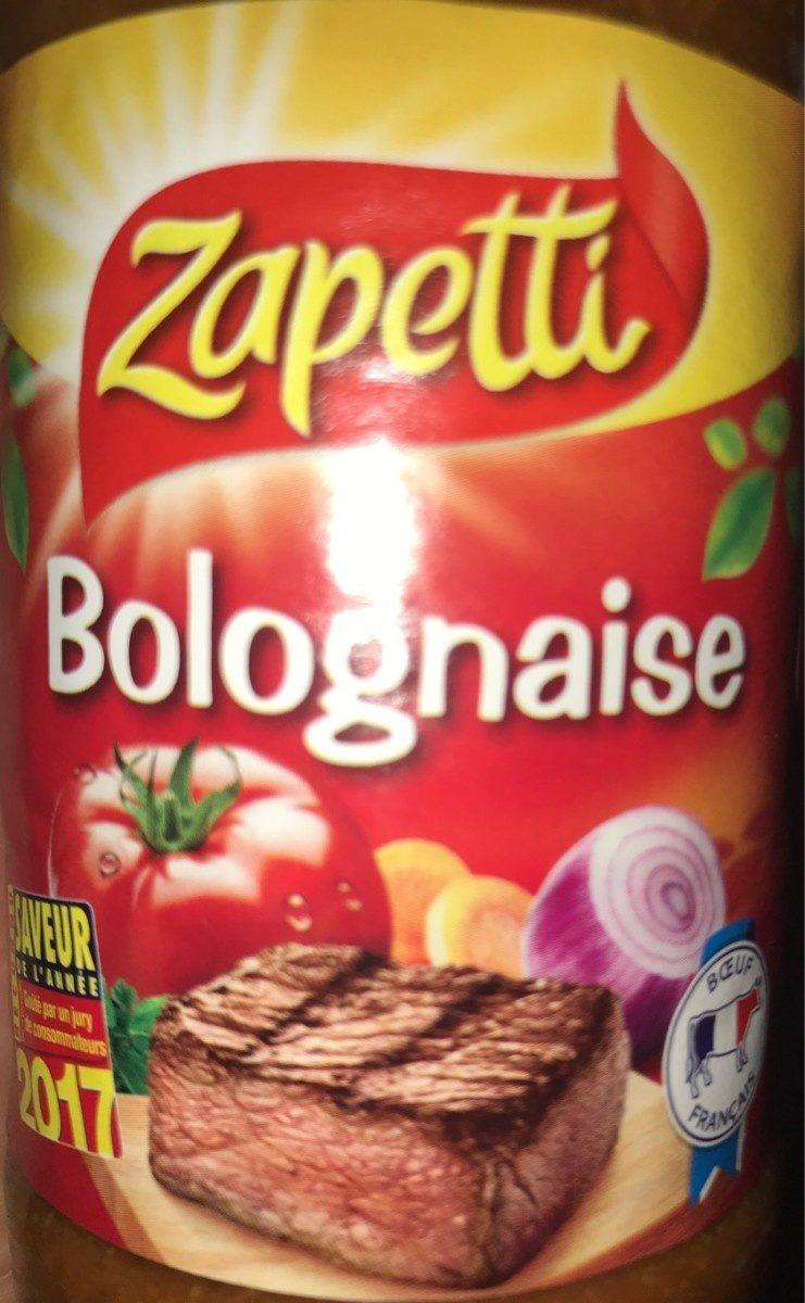 Sauce bolognaise Buitoni - Produit