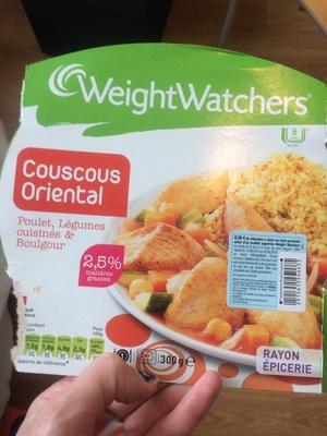 Couscous Oriental Poulet, Légumes Cuisinés et Boulgour - Product