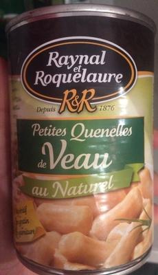 Petite quenelles de veau au naturel - Product - fr
