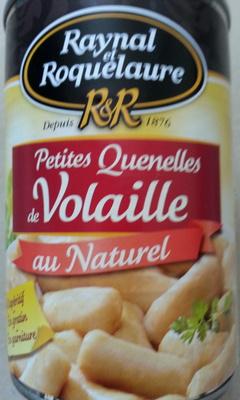 Petites Quenelles de Volaille au Naturel - Produit - fr