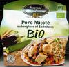 Porc Mijoté aubergines et 4 céréales BIO - Produit