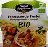 Fricassée de Poulet champignons et riz complet BIO - Product