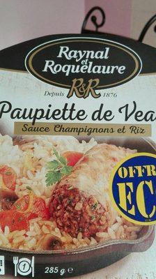 Paupiette de veau - Product - fr