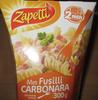 Mes Fusilli Carbonara - Produit
