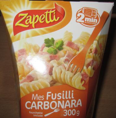 Mes Fusilli Carbonara - Prodotto - fr