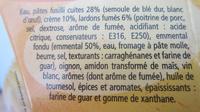 Mes Fusilli Carbonara - Ingredienti - fr