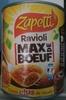"""Raviolis """"Max de Boeuf"""" - Produit"""