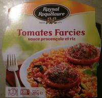 Tomates farcies Sauce Provençale et Riz - Product - fr