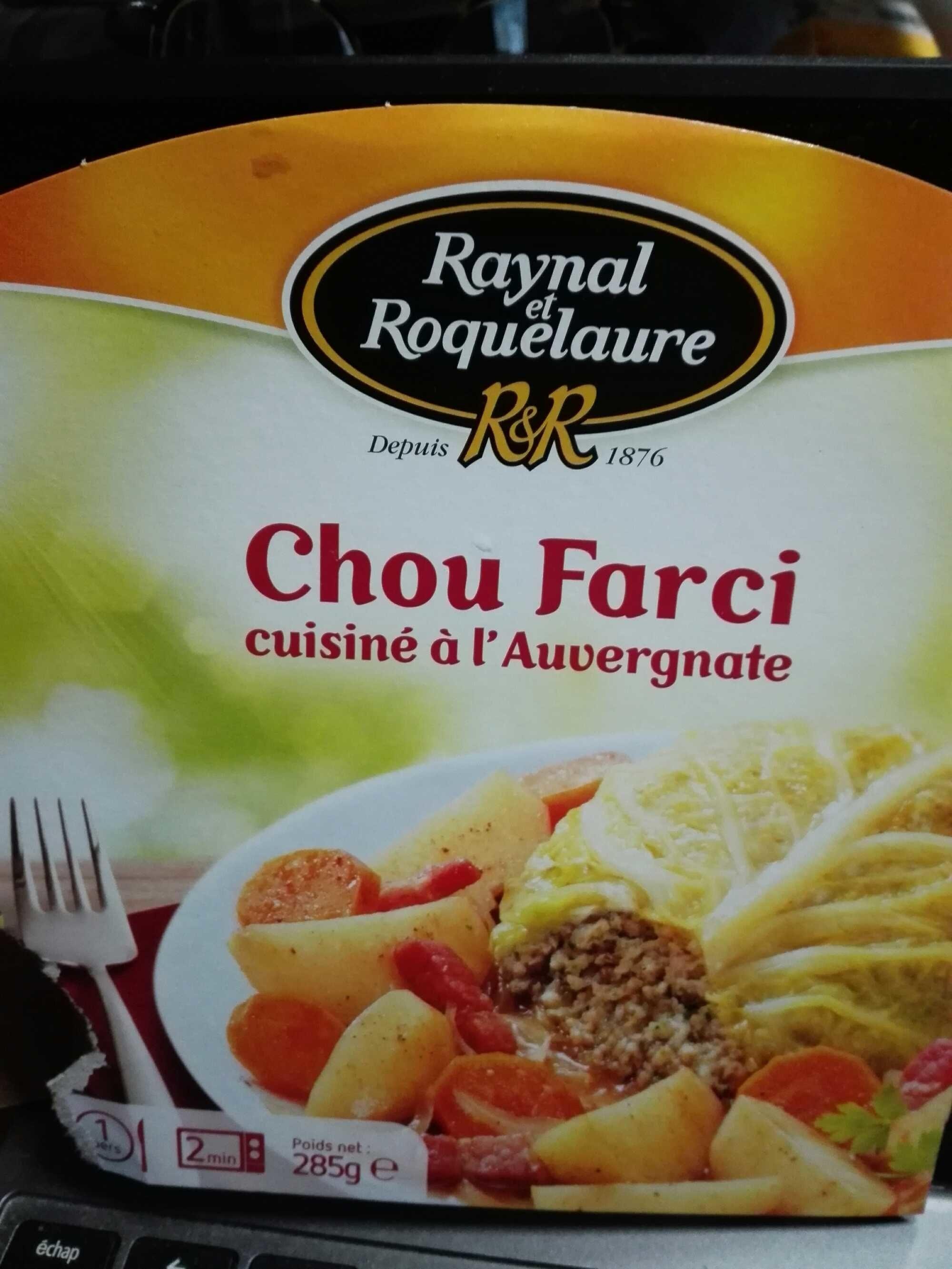 Chou Farci cuisiné à l'Auvergnate - Product