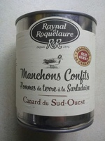 Manchons Confits Pomme de terre à la Sarladaise - Produit - fr