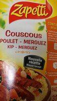 Couscous Zapetti - Produit - fr