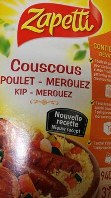 Couscous Zapetti - Product