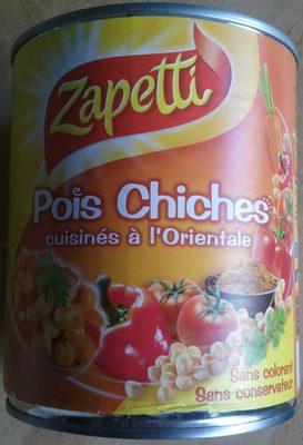 Pois Chiches cuisinés à l'Orientale - Produit - fr