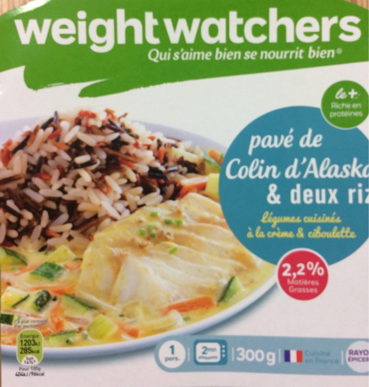 Pavé de Colin, Légumes cuisinés à la crème  & riz (2,2 % MG) - Produit