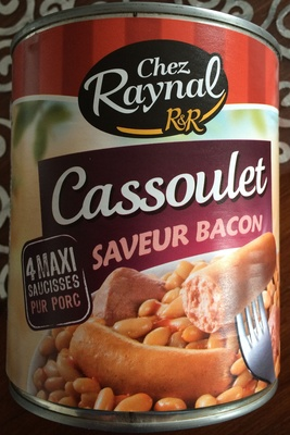Cassoulet Saveur Bacon - Product - fr