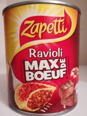 Ravioli Max de Boeuf - Produit