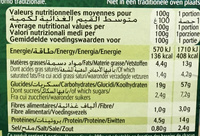 Chili con Carne et Riz - Informations nutritionnelles - fr
