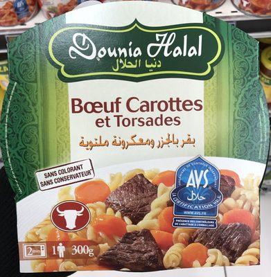 Bœuf Carottes et Torsades - Produit