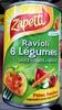 Ravioli 6 Légumes sauce Tomate au Basilic - Produit