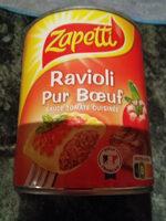 Ravioli pur boeuf - Produit - fr