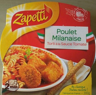 Poulet Milanaise Torti à la Sauce Tomate - Produit