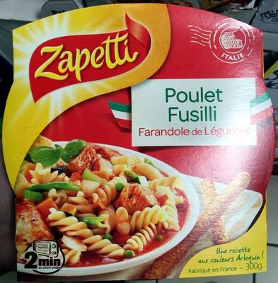 Poulet Fusilli, Farandole de Légumes - Produit - fr