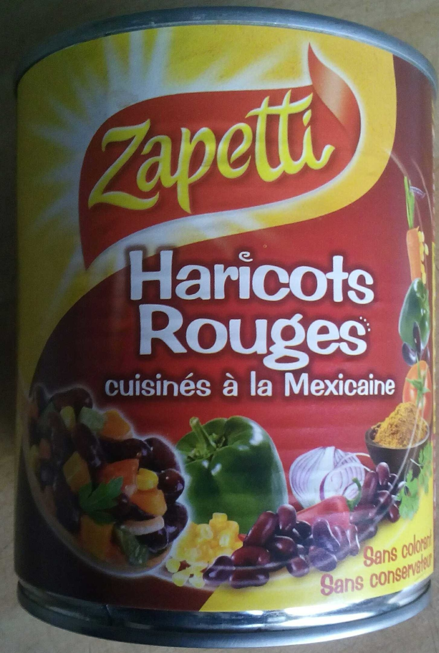 Haricots Rouges cuisinés à la Mexicaine - Product - fr