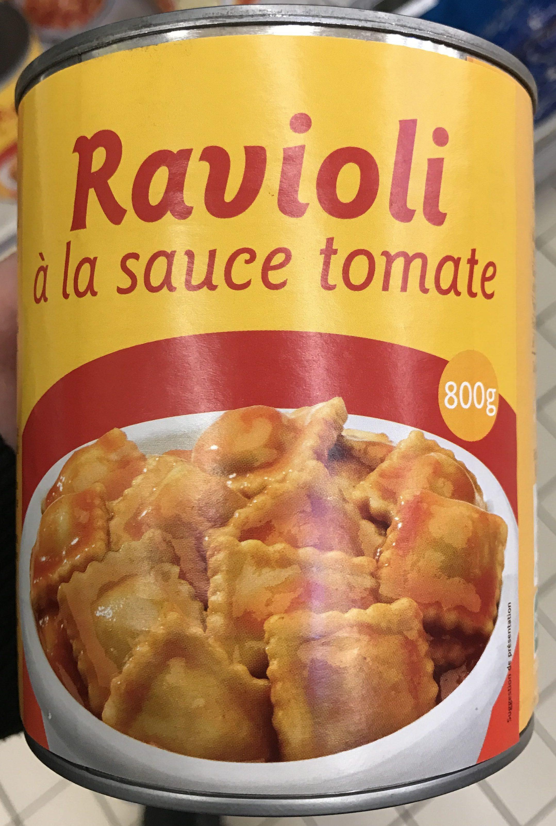 Ravioli à la sauce tomate - Produit