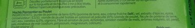 Parmentier de poulet - Ingredients - fr