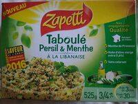 Taboulé Persil & Menthe à la libanaise - Produit