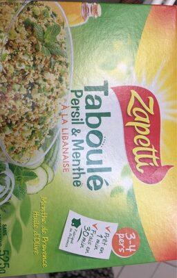 Taboulé Persil & Menthe à la libanaise - Product - fr