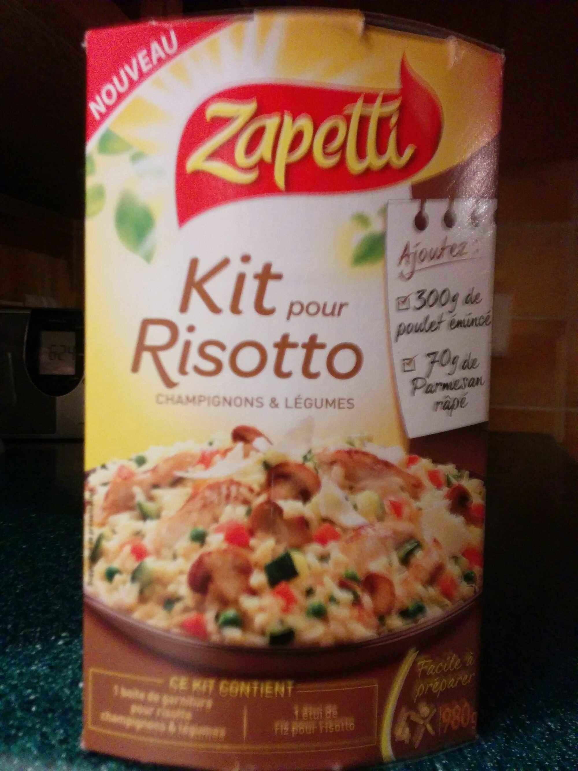 Kit pour Risotto Champignons et Légumes - Product - fr