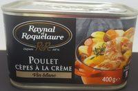 Poulet cèpes à la crème - Product - fr