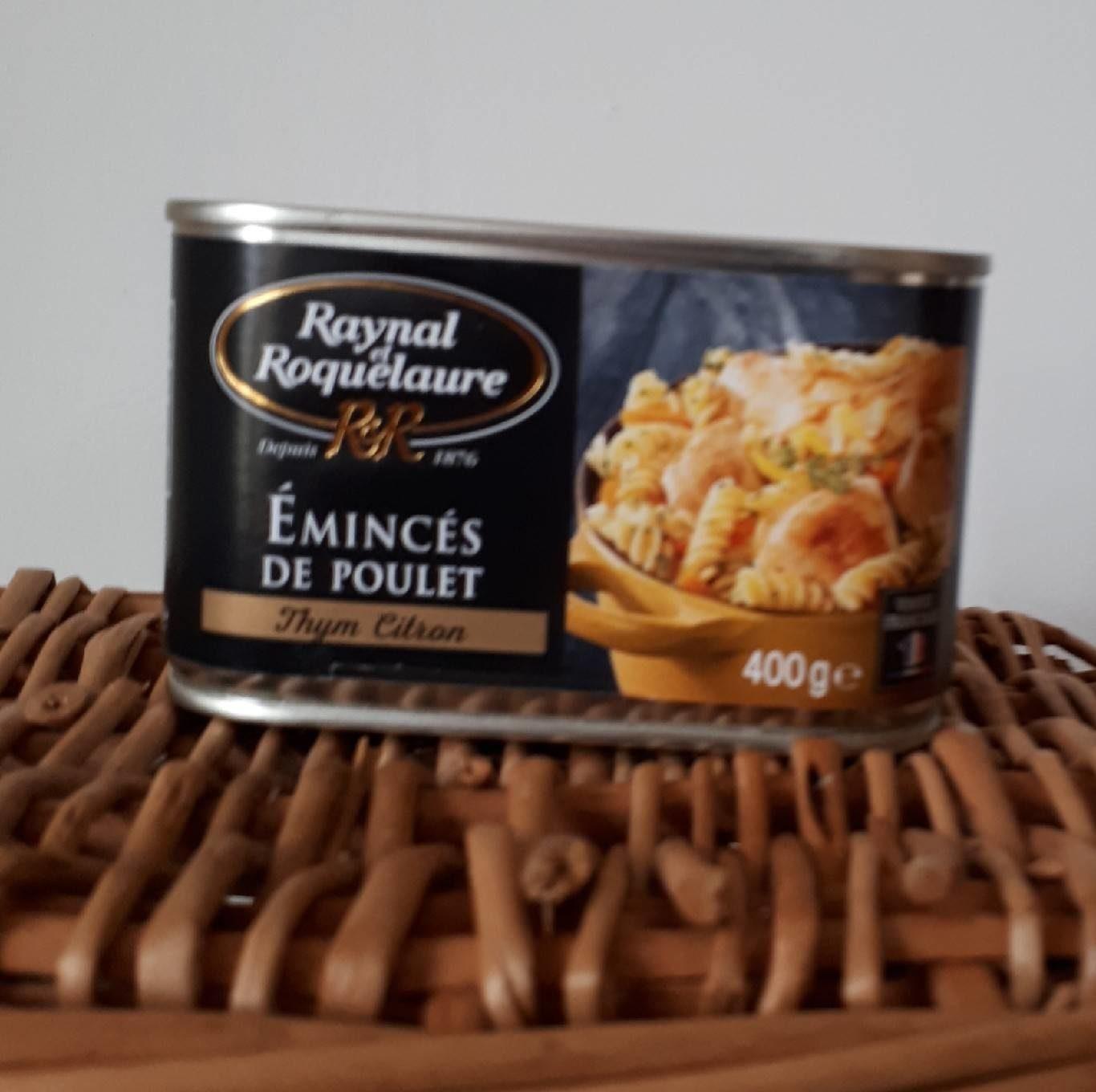 Émincés de poulet - Product - fr