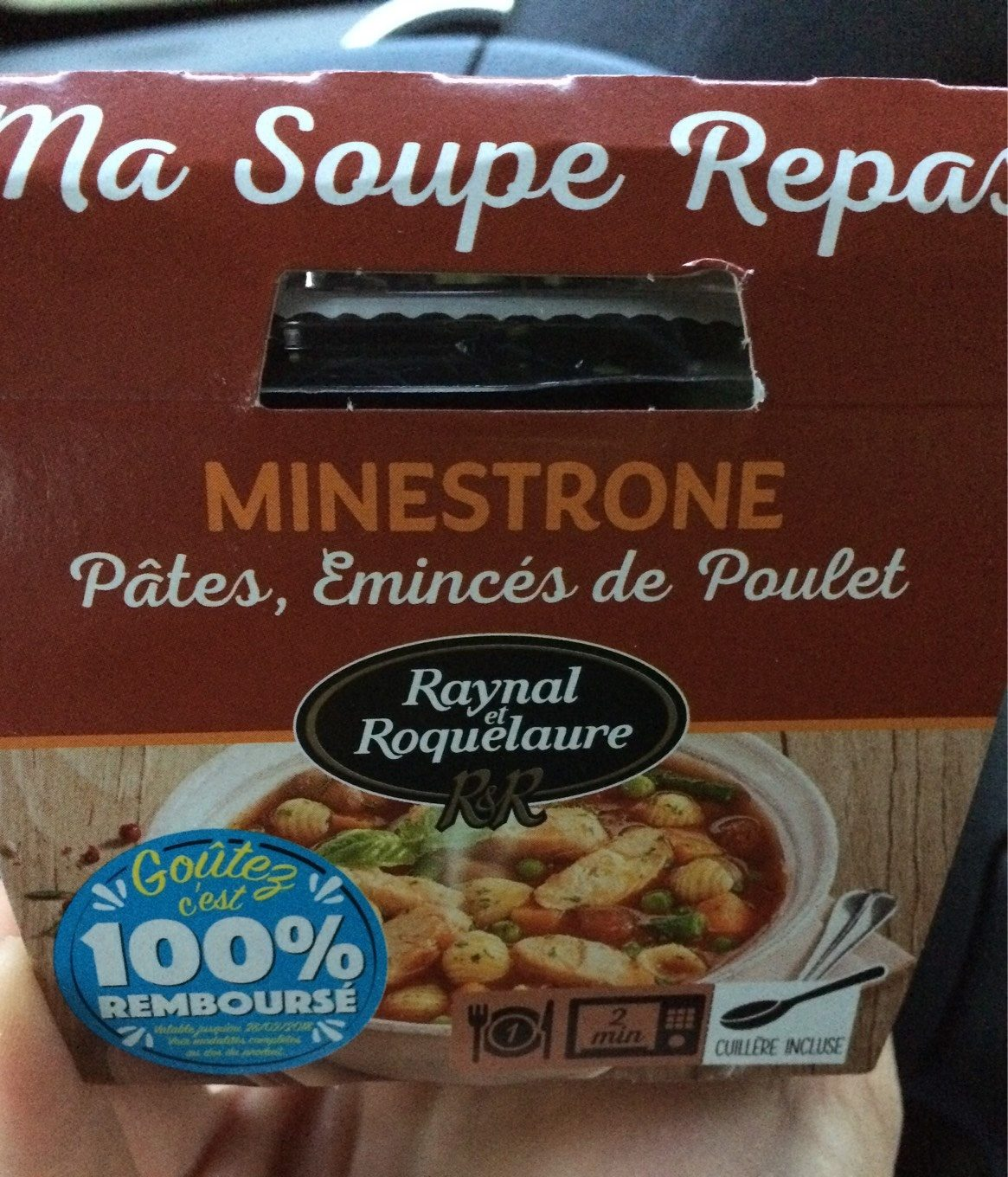 Ma soupe repas minestrone - Product - fr