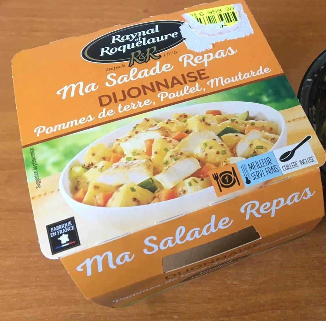 Ma Salade Repas Dijonnaise - Product - fr