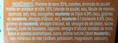 Ma Salade Repas Dijonnaise - Ingredients - fr