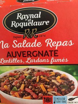 Ma Salade Repas AUVERGNATE - Product - fr