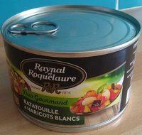 Ratatouille et haricots blancs - Product - fr