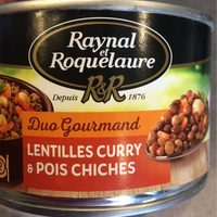 Légumes Curry & Pois Chiches - Product - fr