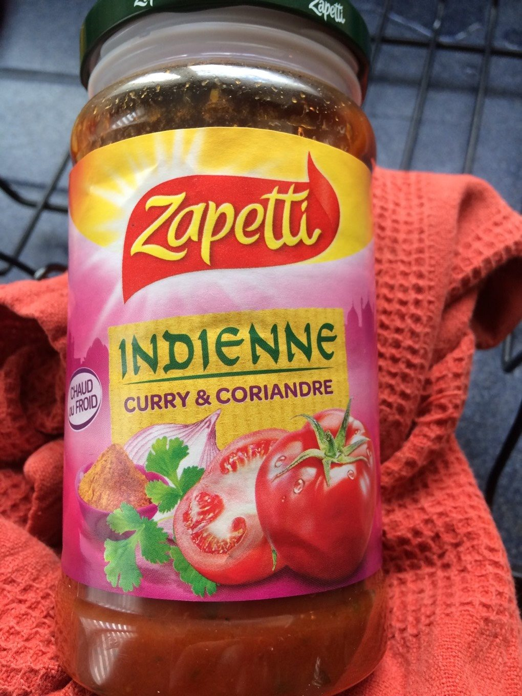 Indienne curry et coriandre - Product - fr
