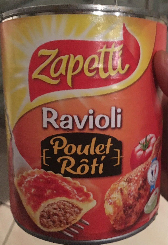 Ravioli Poulet Rôti - Product - fr