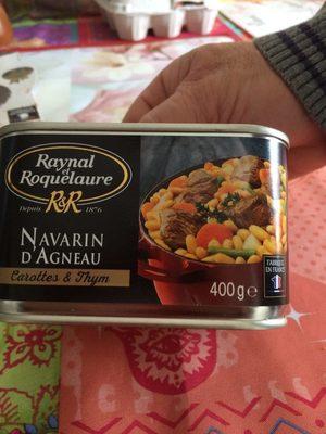Navarin d'agneau - Product - fr