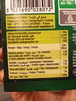 Chorba - Informations nutritionnelles - fr