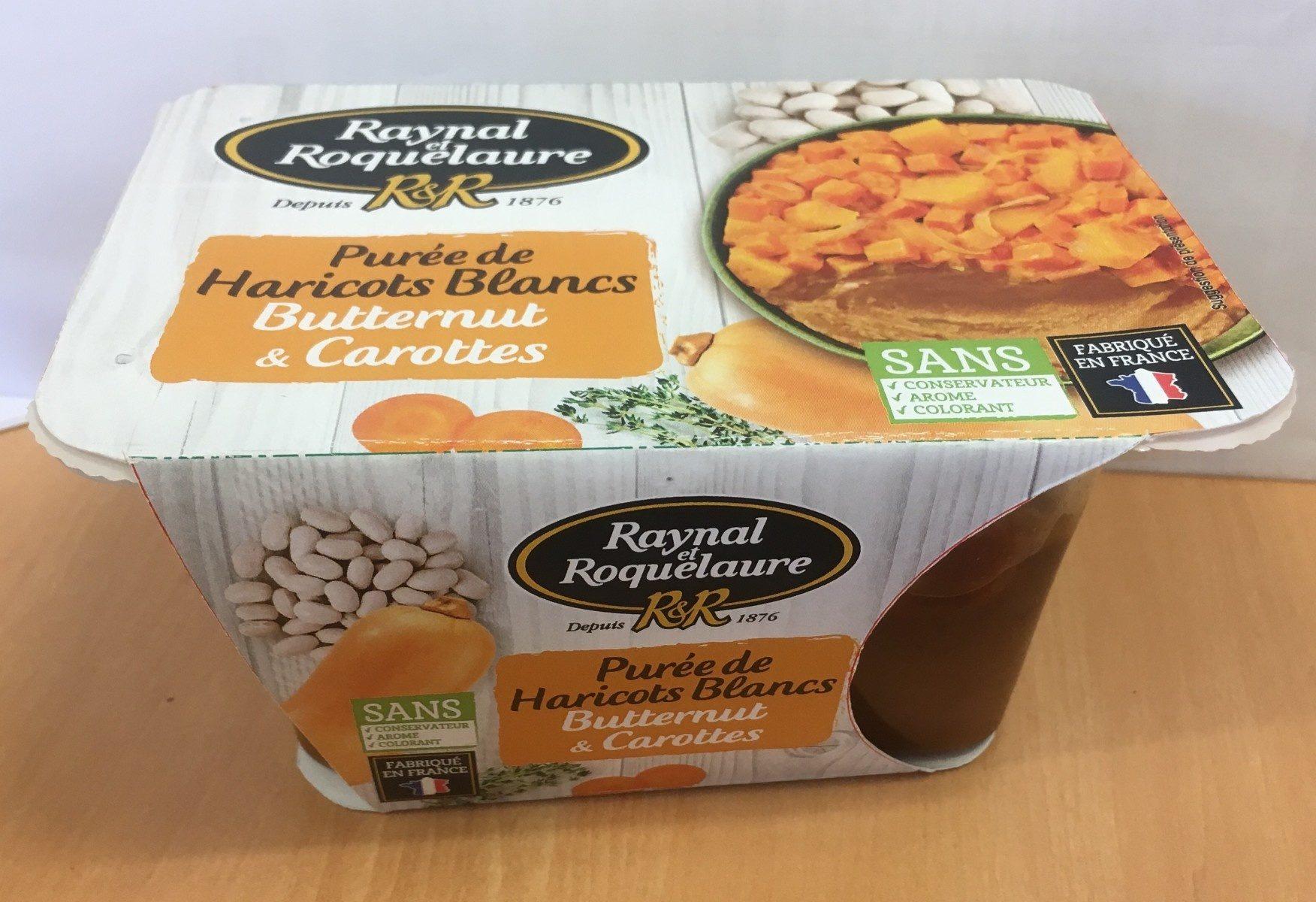 Purée de Haricots blancs, butternut & carottes - Product - fr