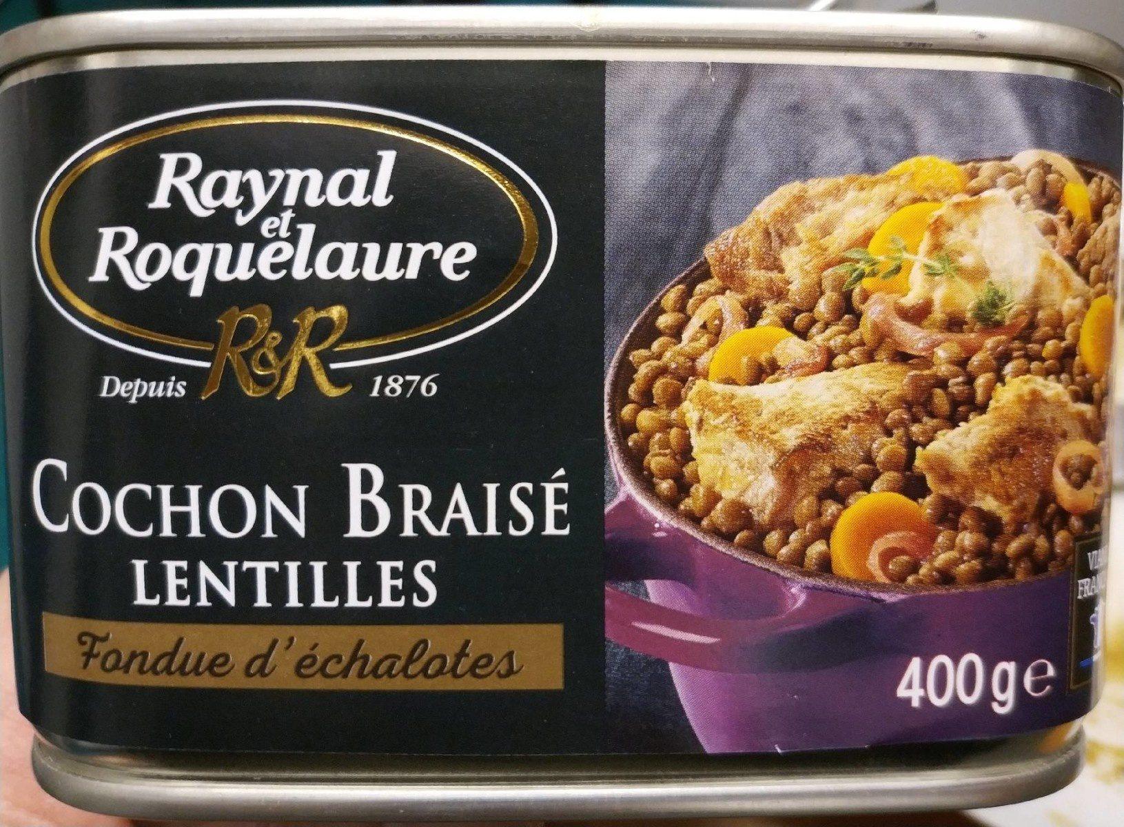 Cochon braisé Lentilles - Product
