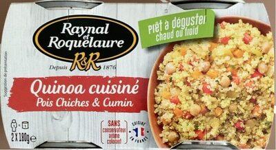 Quinoa cuisiné - Product - fr