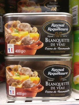 Blanquette de veau à la crème - Produit - fr