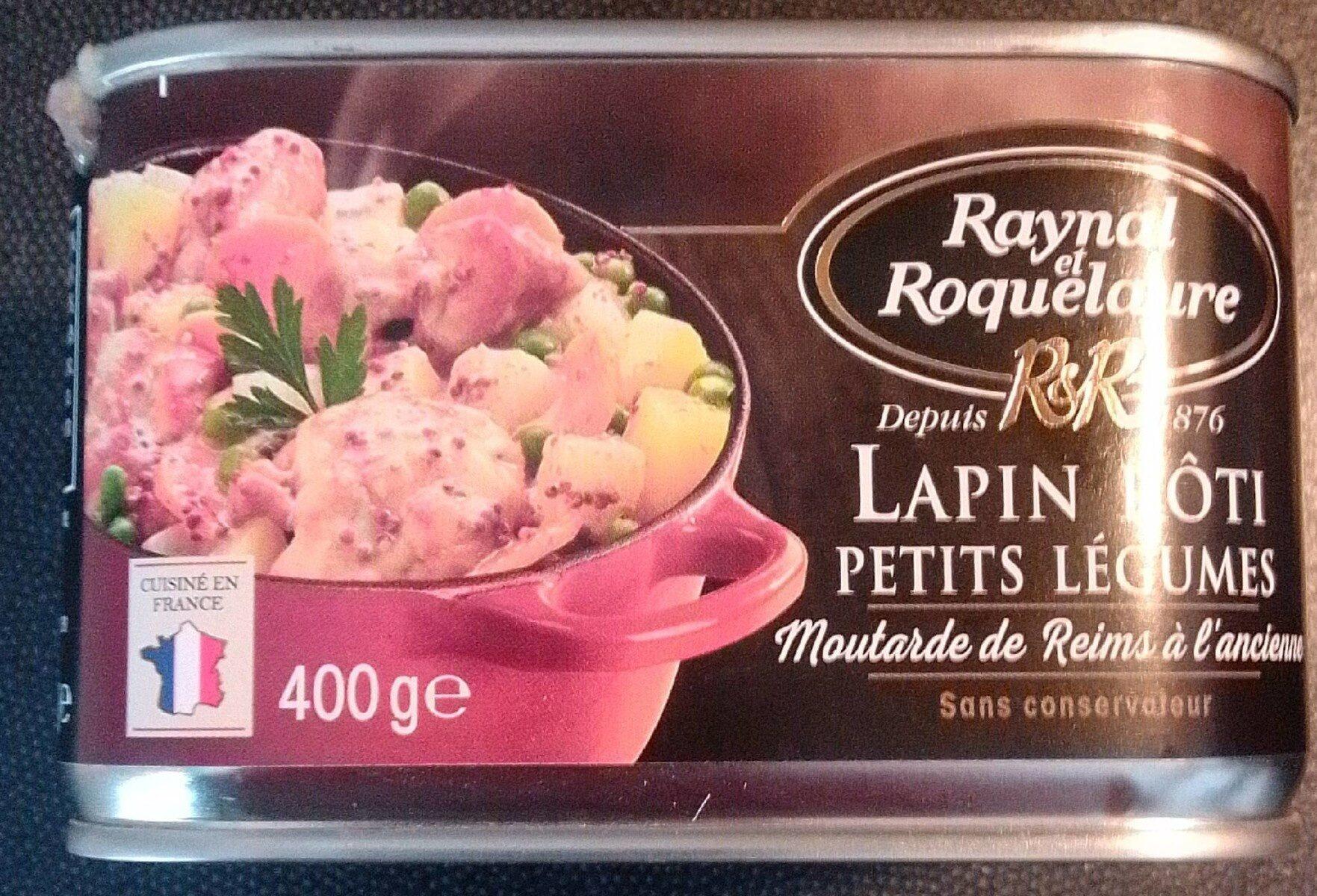 Lapin rôti petits légumes - Product